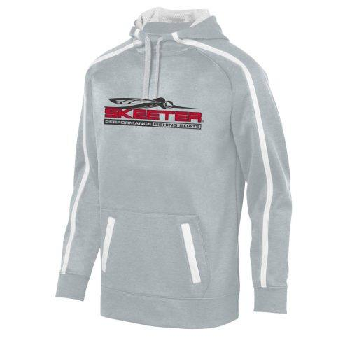 tonal heather hoodie