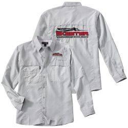 dri duck long sleeve fishing shirt